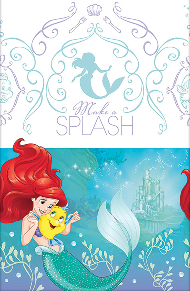 Featured Image for Disney Ariel Table Cover