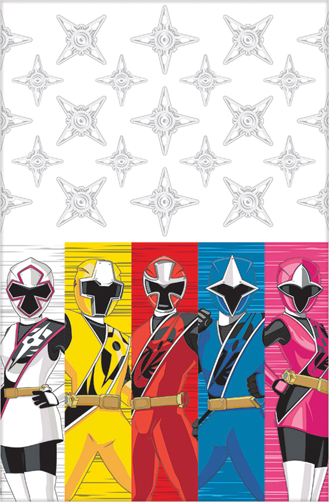 Featured Image for Power Rangers Table Cover