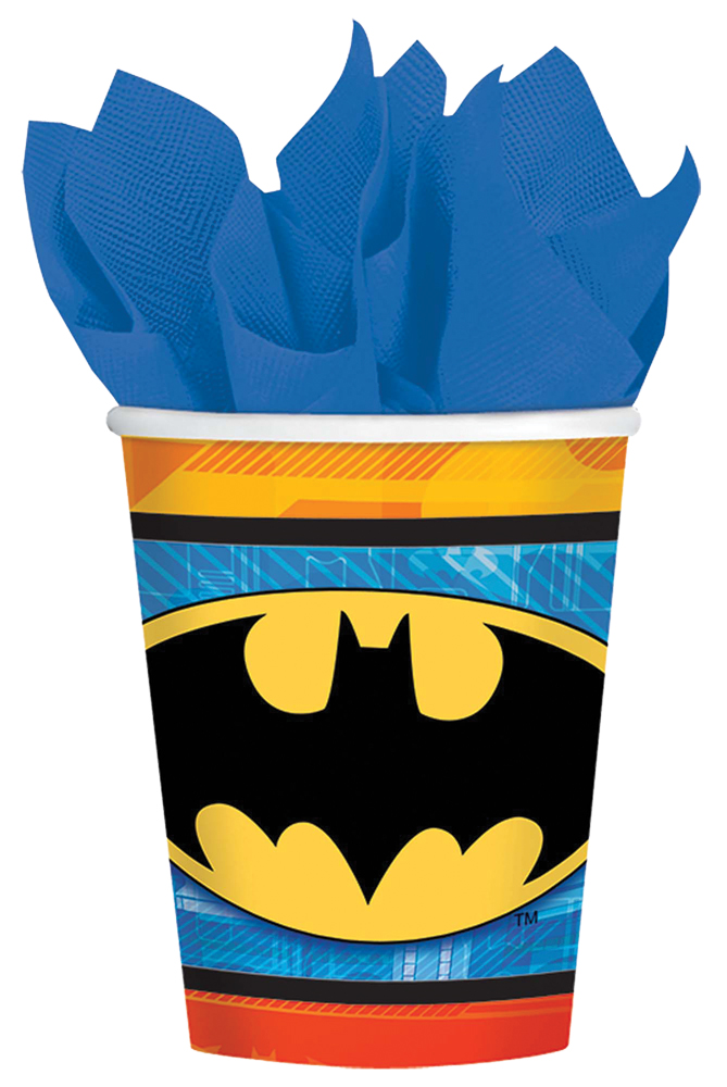 Featured Image for 9oz Batman Cups – Pack of 8