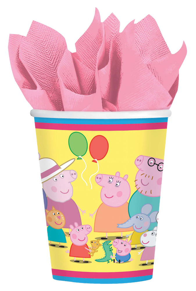 Featured Image for 9oz Peppa Pig Cups – Pack of 8