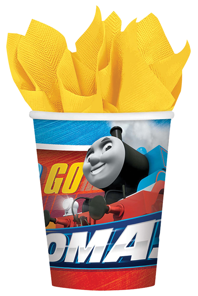 Featured Image for 9oz Thomas The Tank Cups – Pack of 8