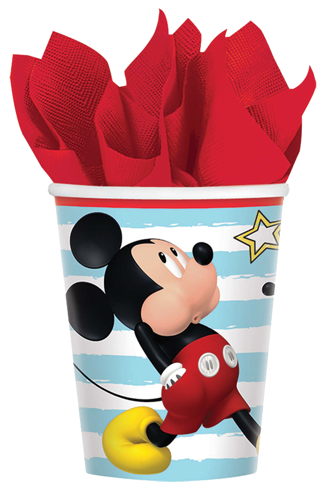 Featured Image for 9oz Disney Mickey Cups – Pack of 8