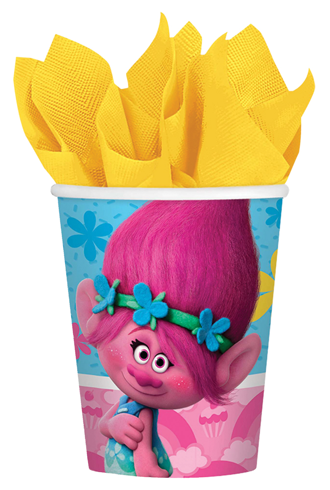 Featured Image for 9oz Trolls Cups – Pack of 8
