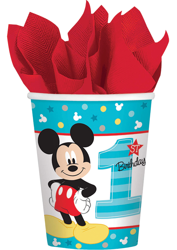 Featured Image for 9oz Mickey 1st Cups – Pack of 8