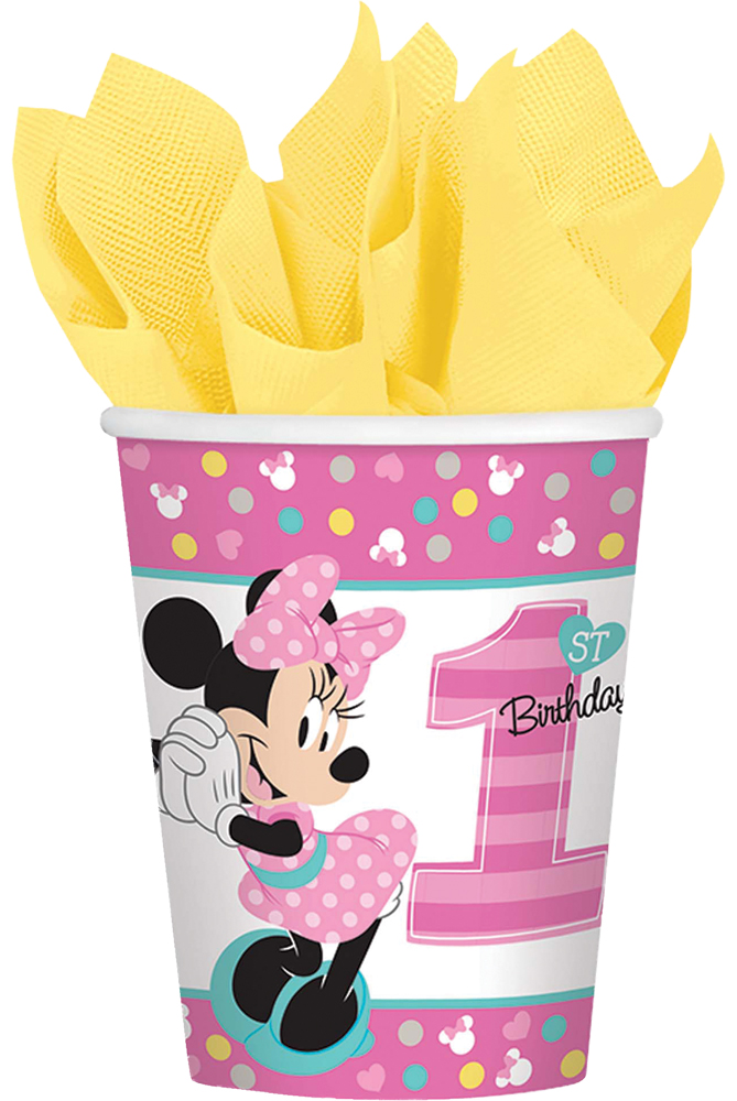 Featured Image for 9oz Minnie 1st Cups – Pack of 8
