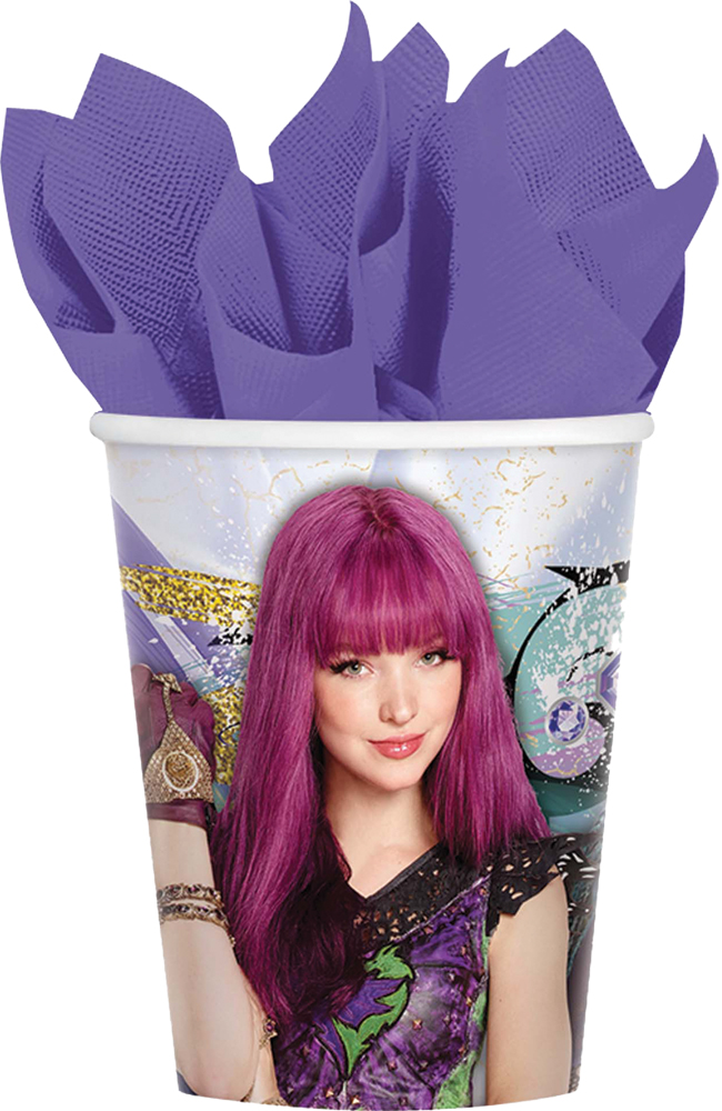 Featured Image for 9oz Disney Descendants 2 Cups – Pack of 8