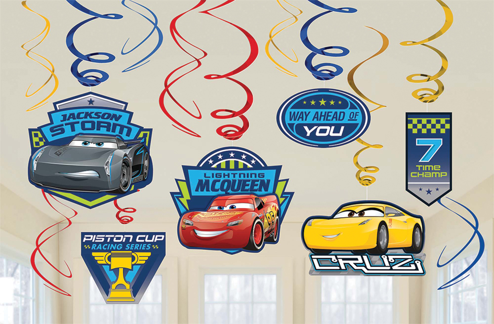 Featured Image for Disney Cars 3 Foil Decor