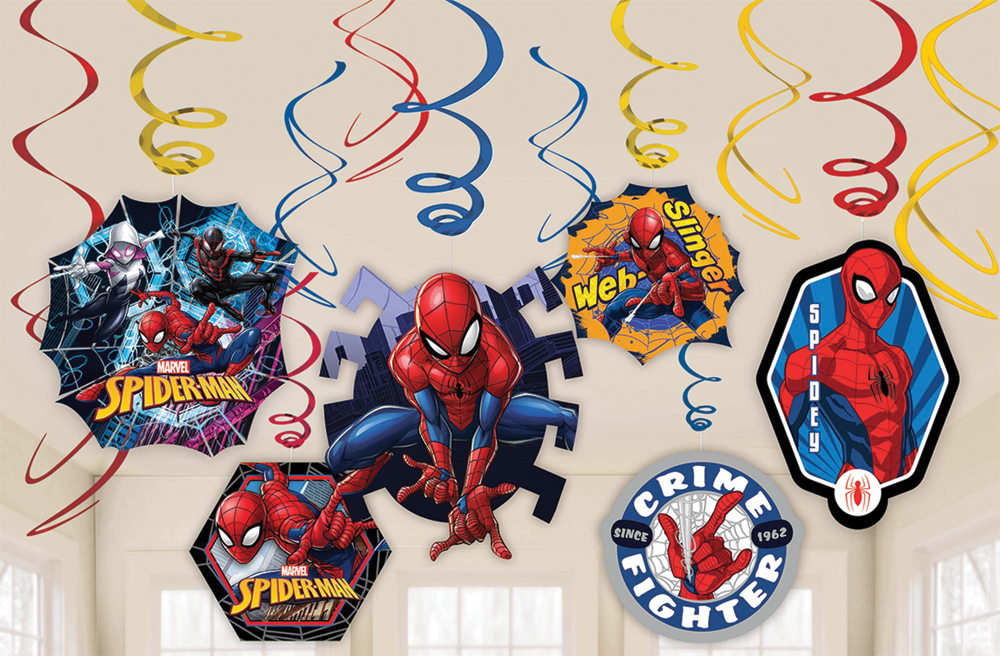 Featured Image for Spider-Man Foil Decor