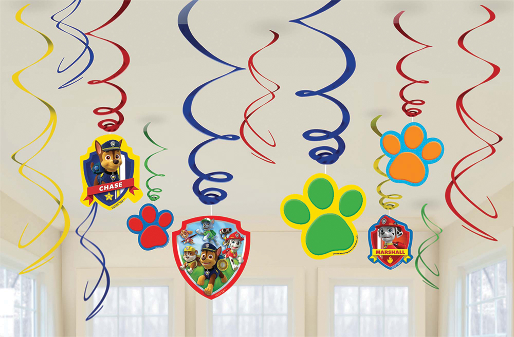 Featured Image for PAW Patrol Foil Decor