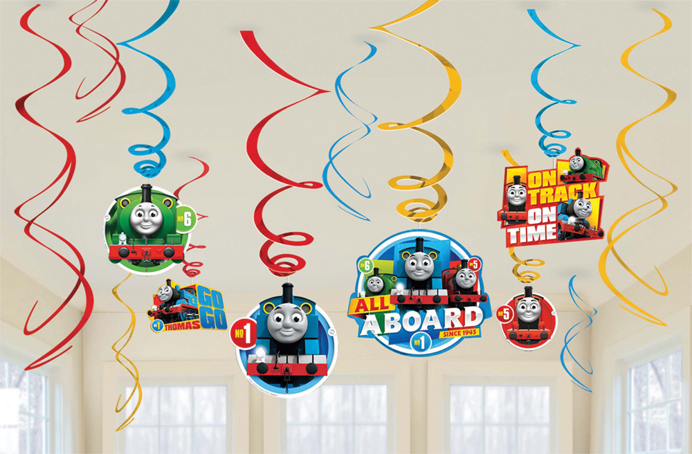 Featured Image for Thomas The Tank Foil Decor