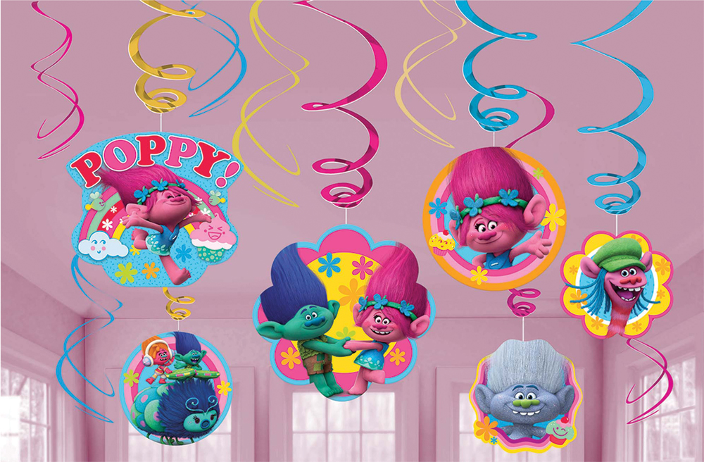 Featured Image for Trolls Foil Decor