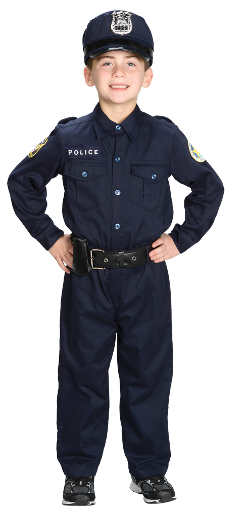 Featured Image for Boy's Police Officer Costume