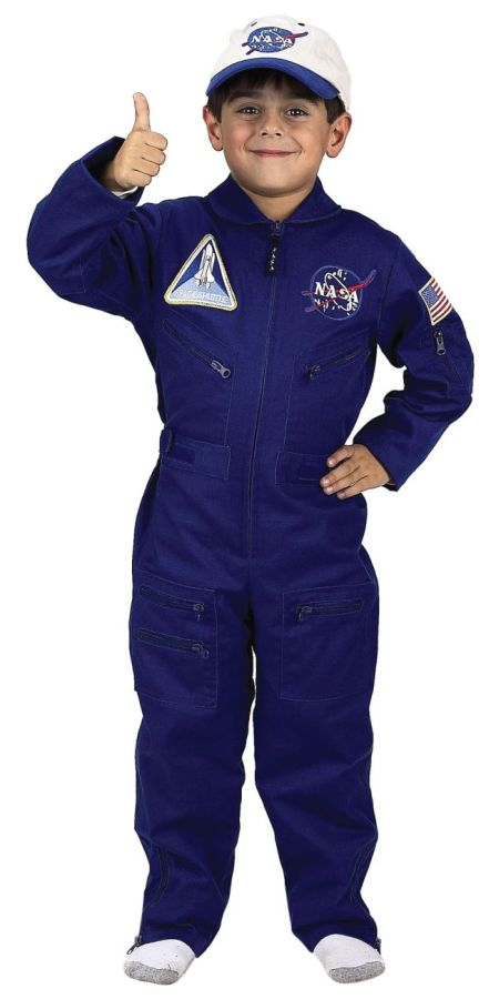 Featured Image for Boy's NASA Flight Suit with Cap