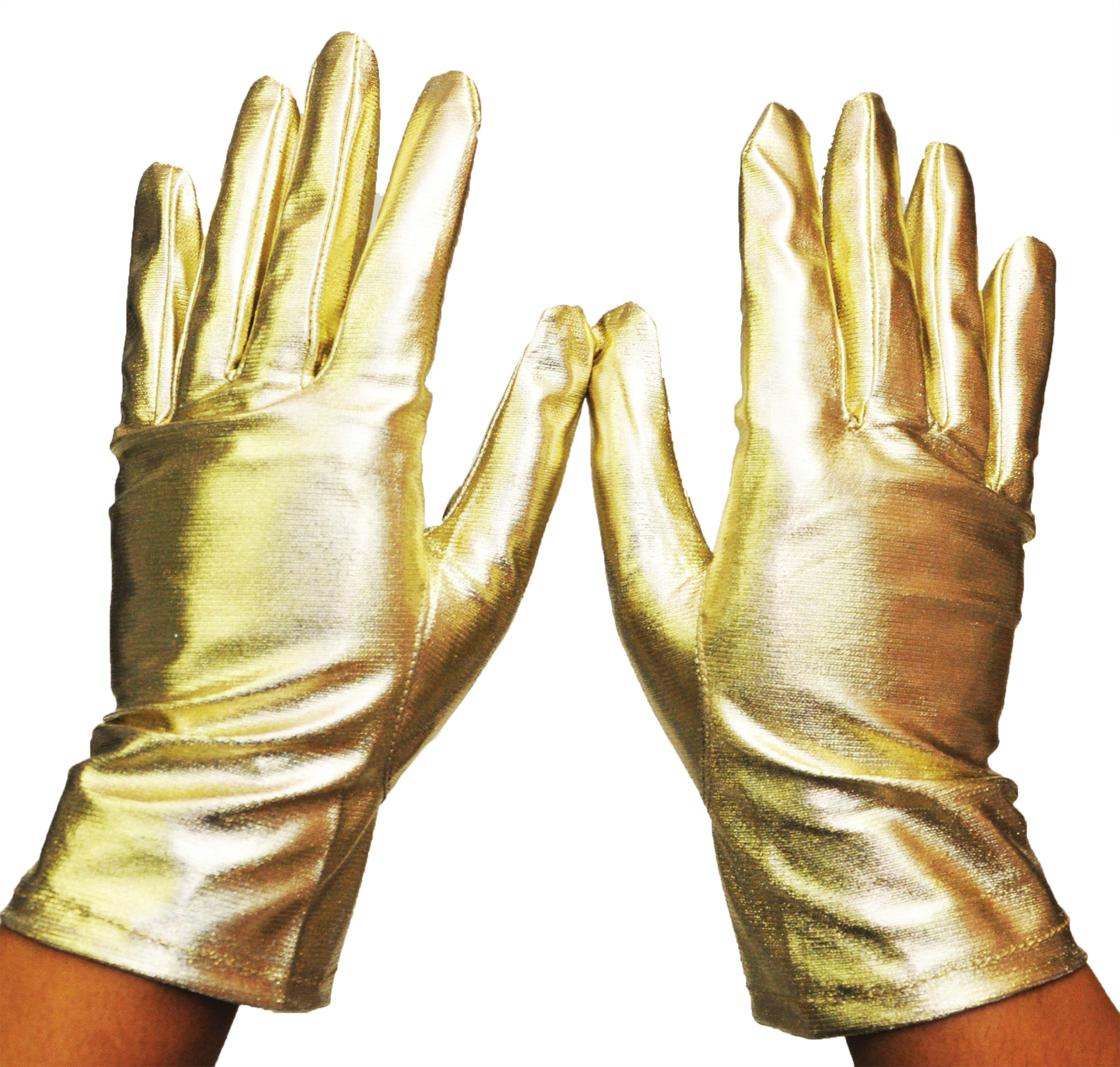 Featured Image for Metallic Gloves