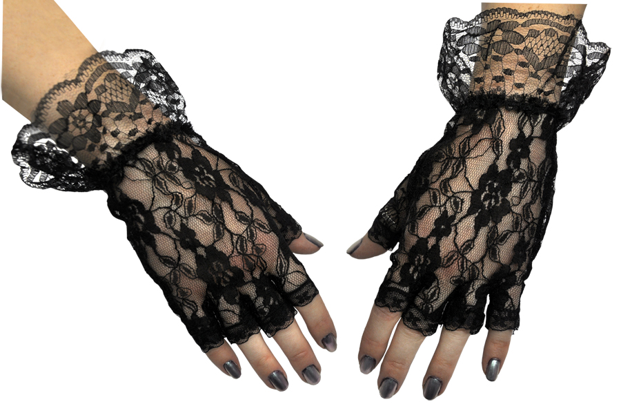 Featured Image for Gloves Black Fingerless