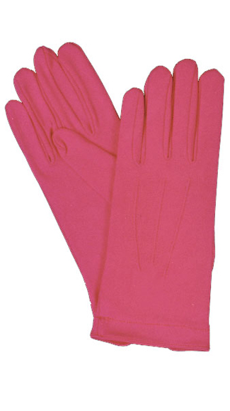 Featured Image for Hot Pink Nylon Gloves with Snap