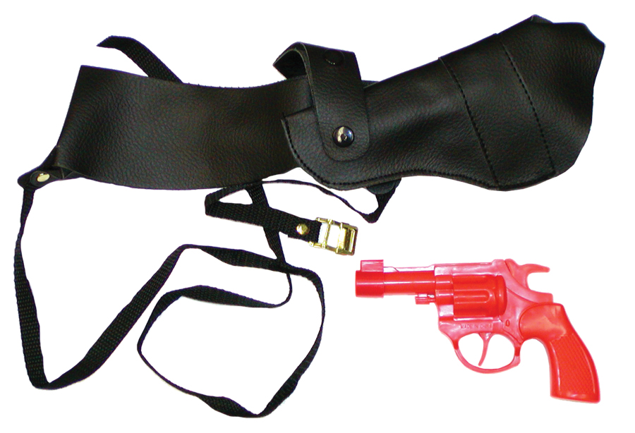 Featured Image for Shoulder Holster with Gun