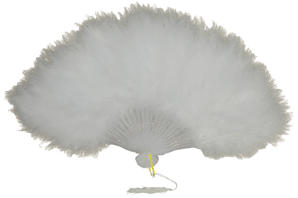 Featured Image for Marabou Feather Fan