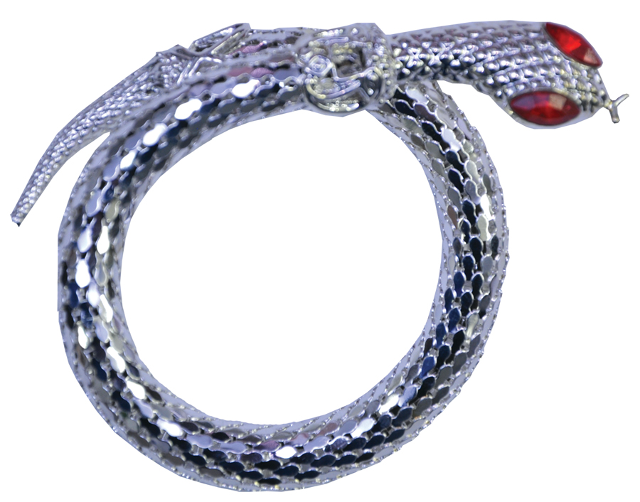 Featured Image for Bracelet Snake Silver