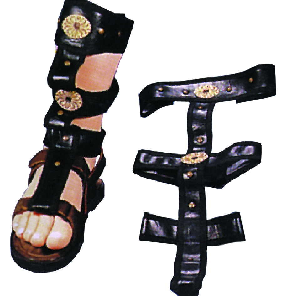 Featured Image for Men's Roman Sandal Spats