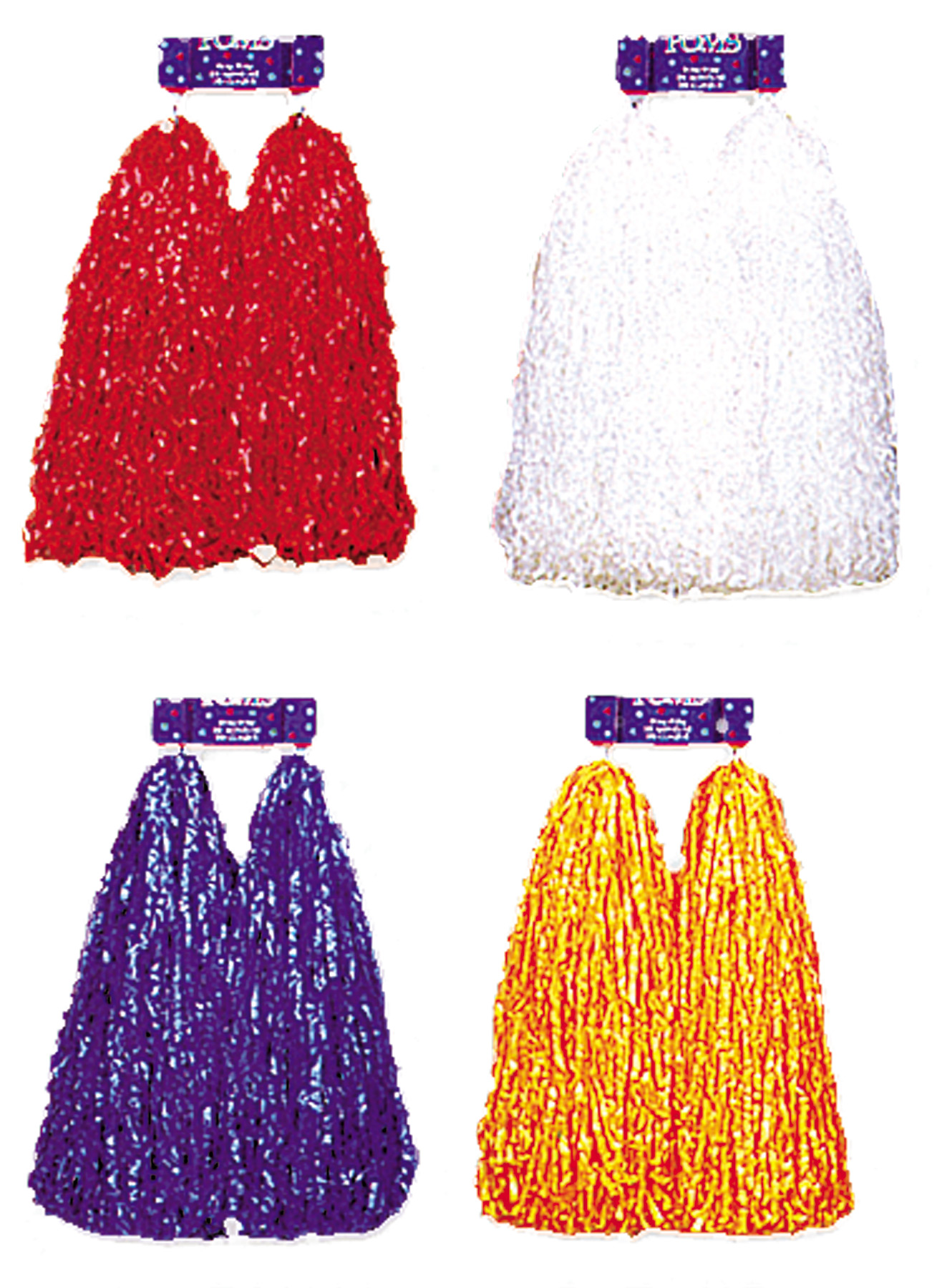 Featured Image for Plastic Cheerleader Pom Poms