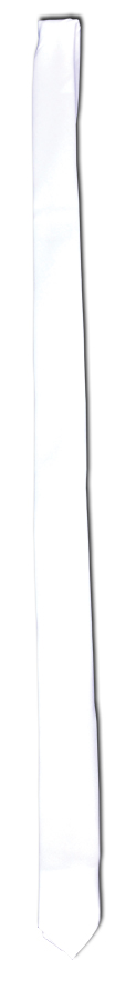 Featured Image for GANGSTER TIE LONG WHITE
