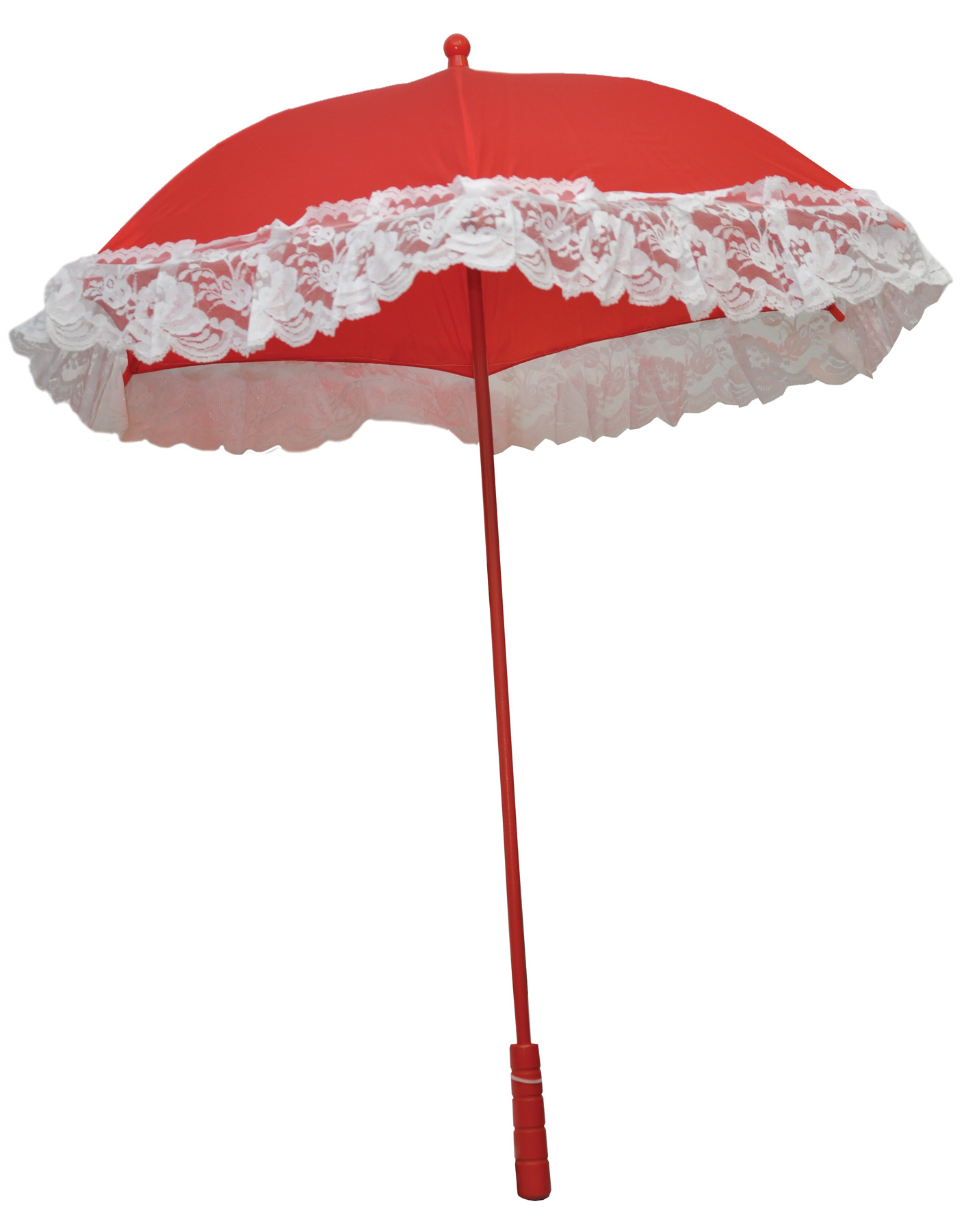 Featured Image for 25″ Nylon Parasol with Ruffle