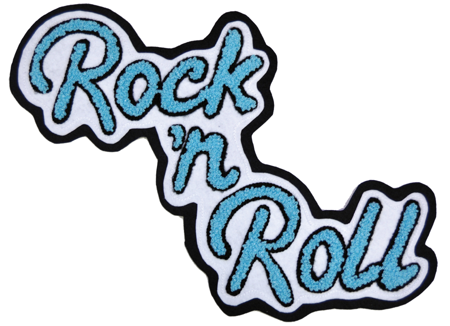 Featured Image for Patch Chenille Rock N Roll