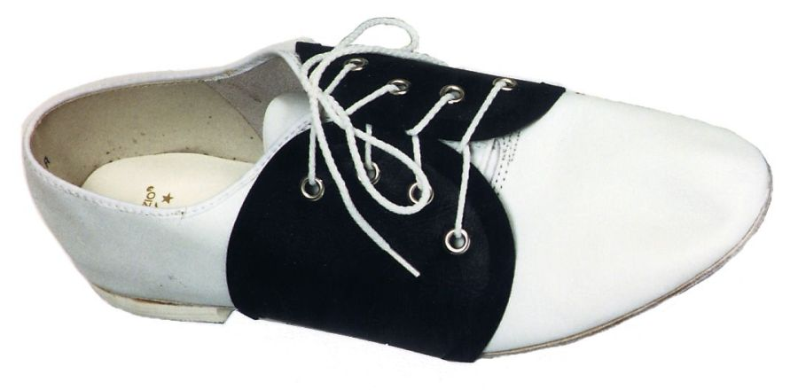 Featured Image for Adult Saddle Shoe Spats