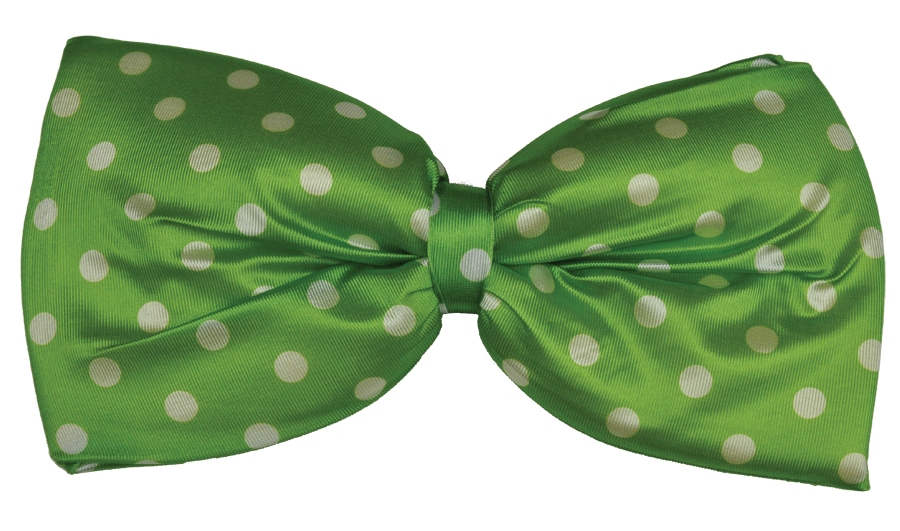 Featured Image for Jumbo Polka Dot Bow Tie