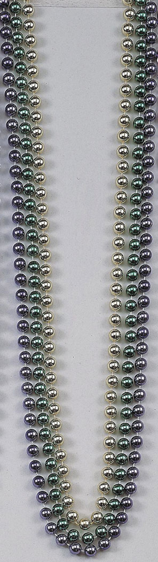 Featured Image for 48″ Beads 10mm Metallic – Pack of 12