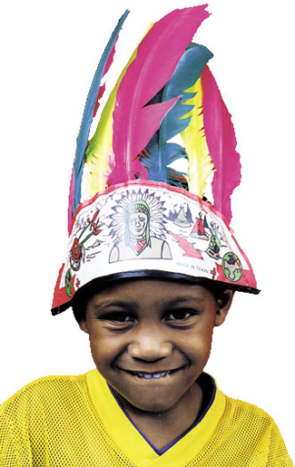 Featured Image for Indian Headdress Child