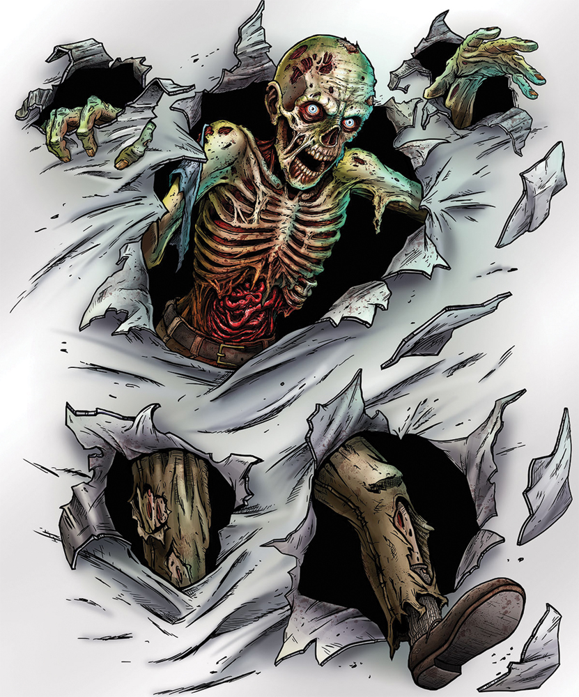 Featured Image for Zombie Insta Mural