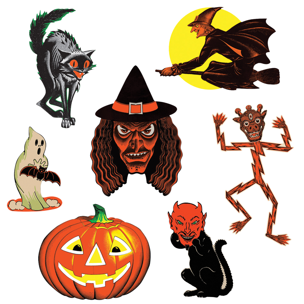 Featured Image for Vintage Halloween Cutouts