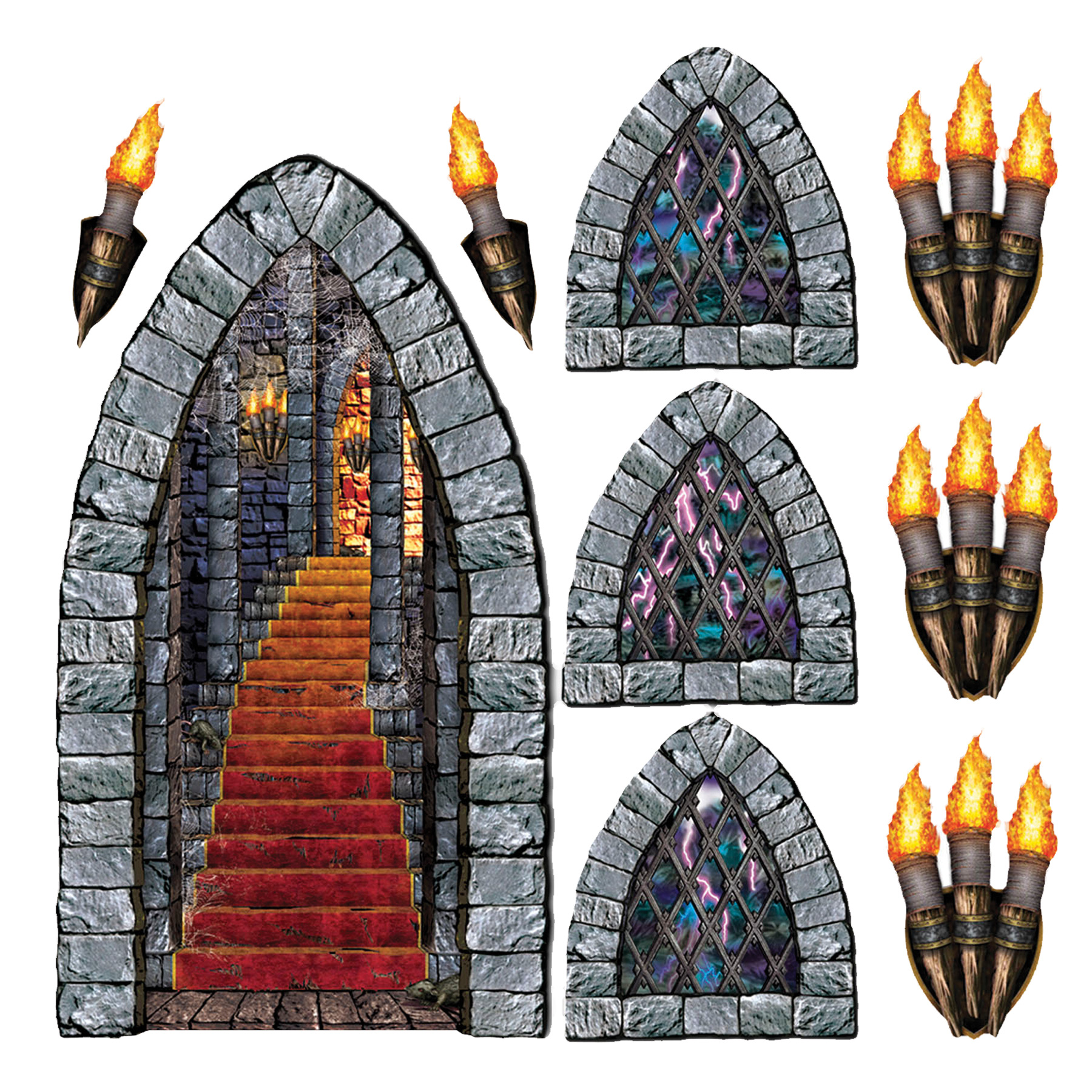 Featured Image for Stairway Window Torch Props