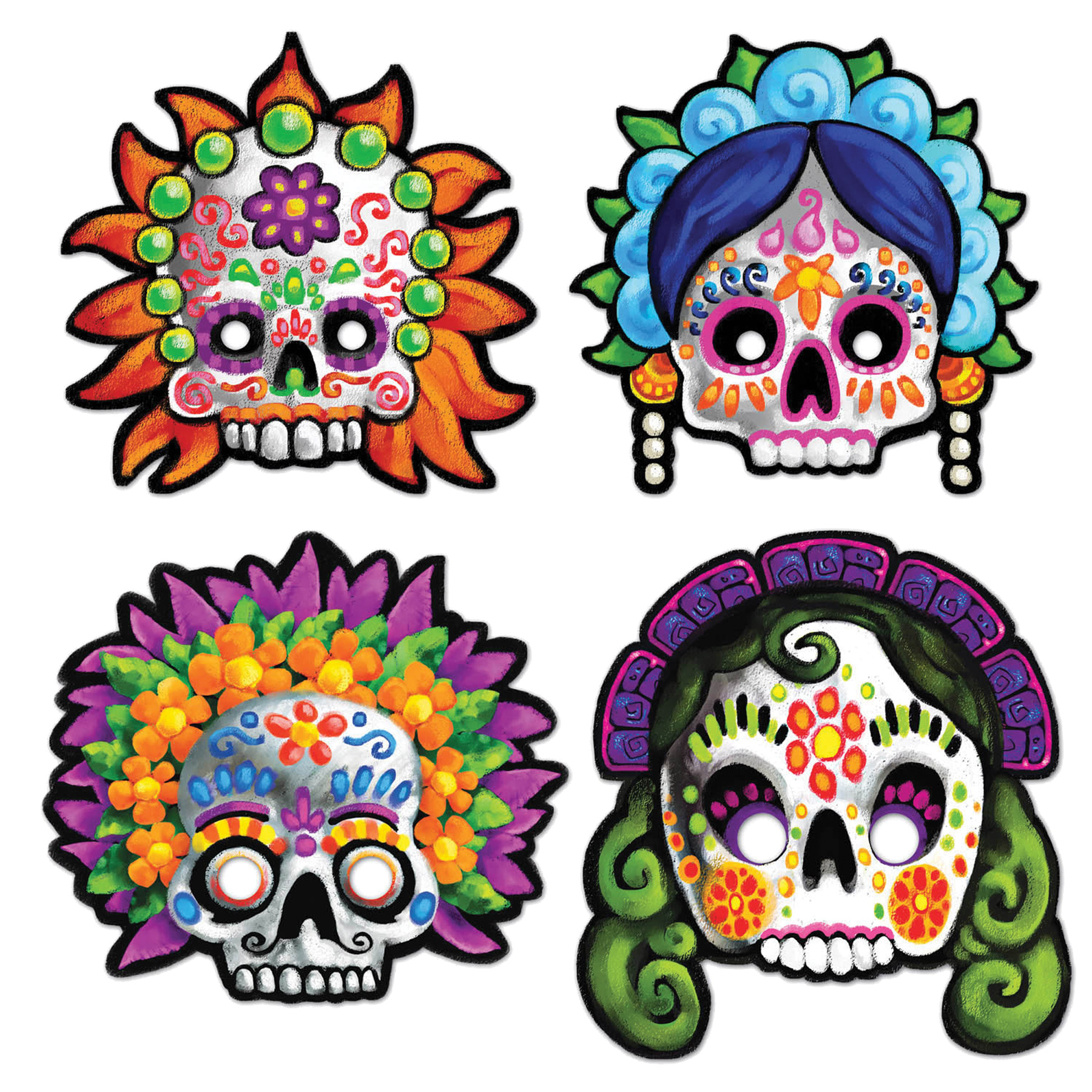 Featured Image for Day of The Dead Masks