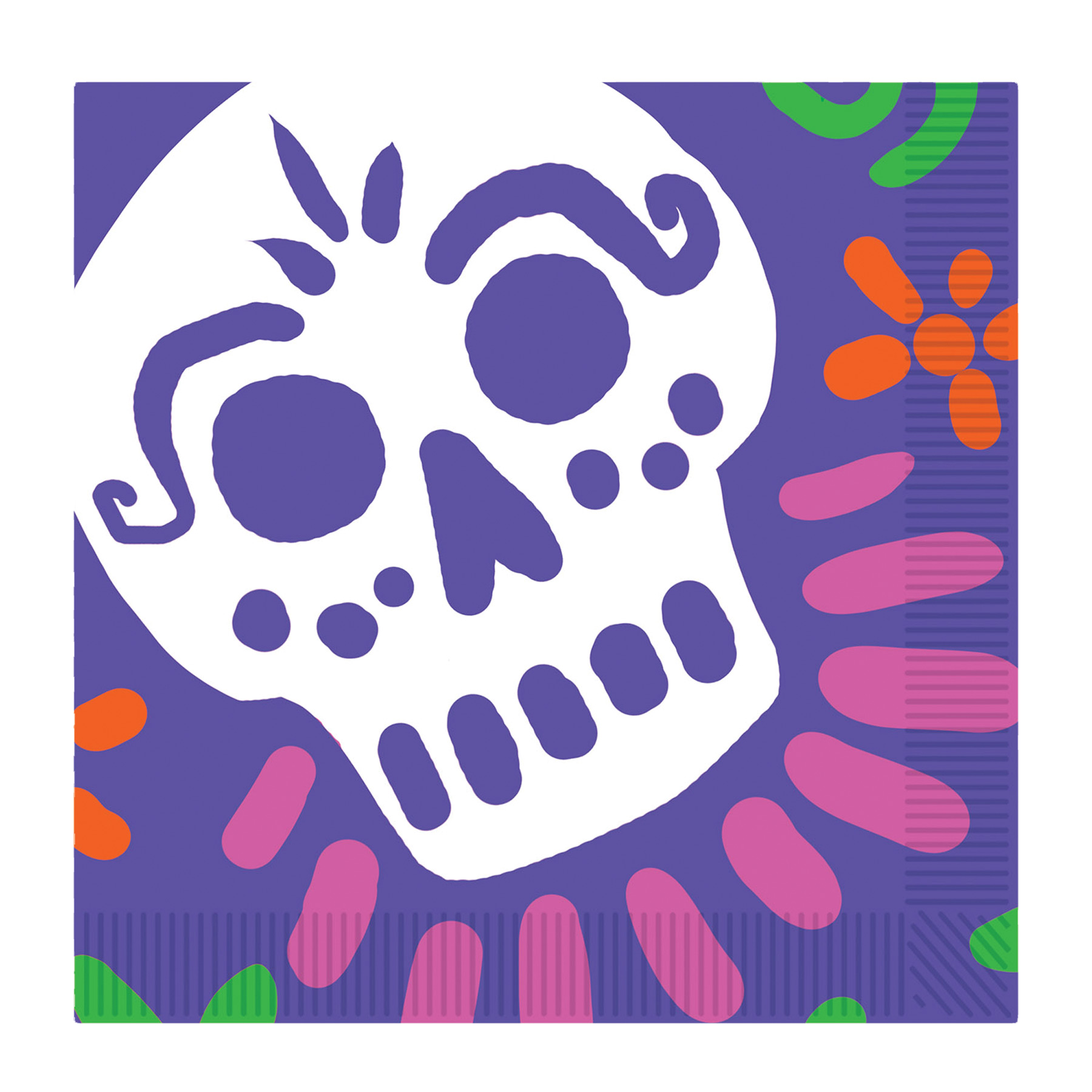 Featured Image for Day of the Dead Luncheon Napkins