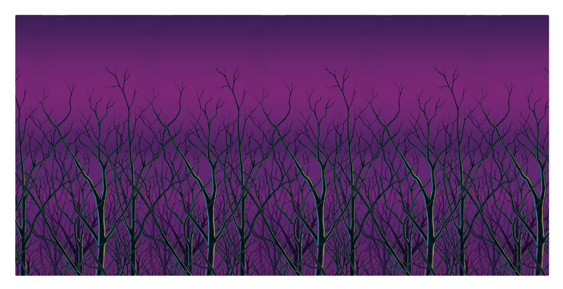 Featured Image for Spooky Forest Treetops Backdrop