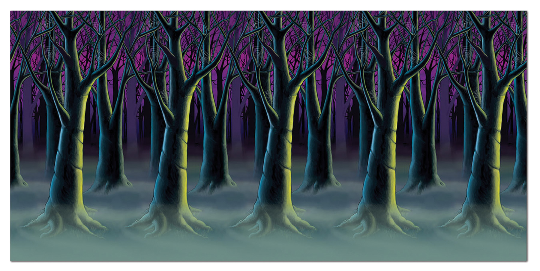 Featured Image for Spooky Forest Trees Backdrop