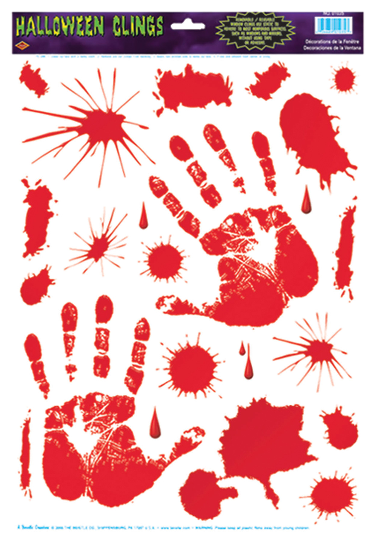 Featured Image for Bloody Handprint Clings