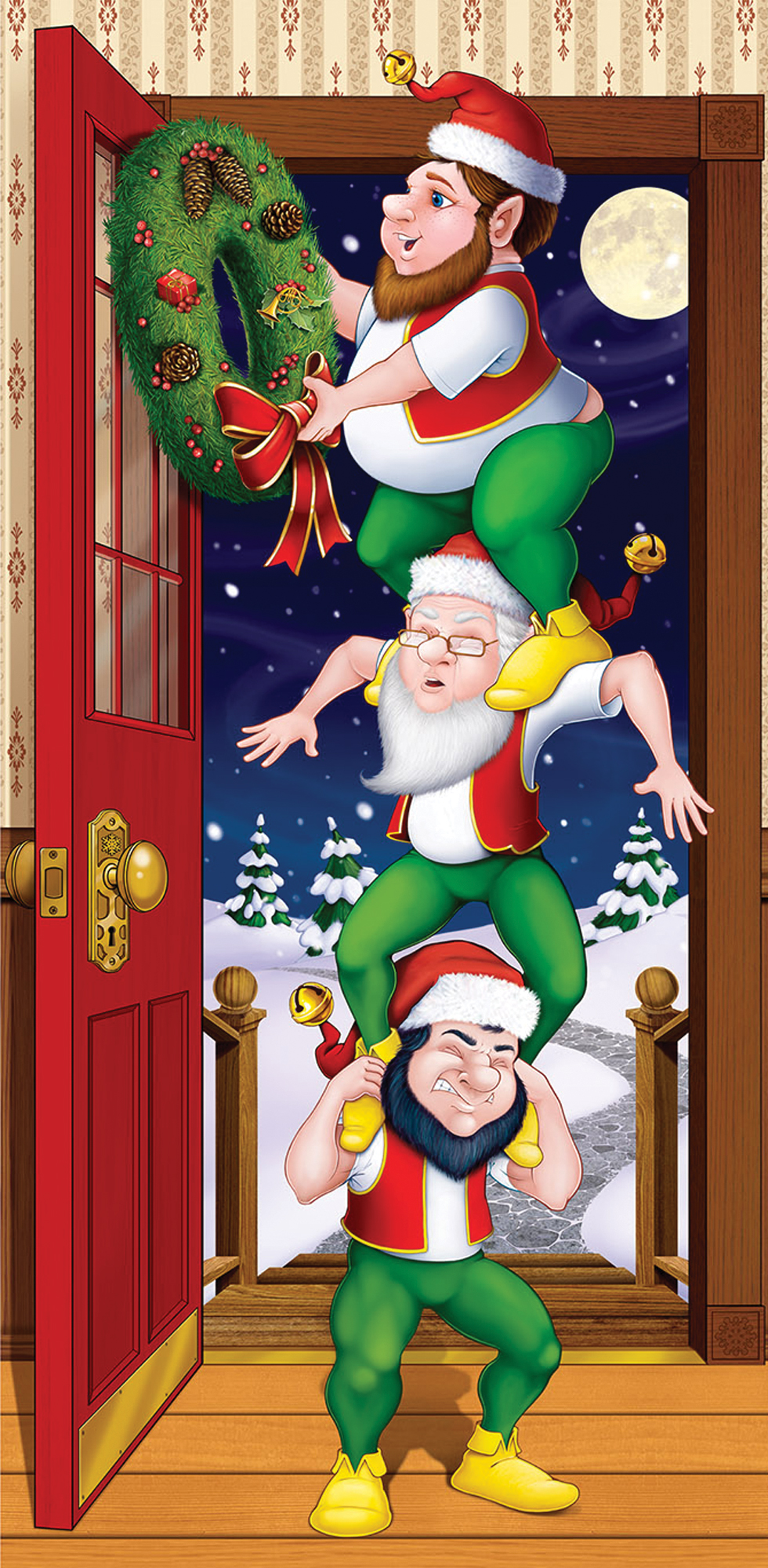 Featured Image for Christmas Elves Door Cover