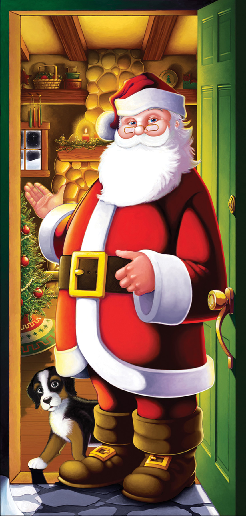 Featured Image for Santa Door Cover