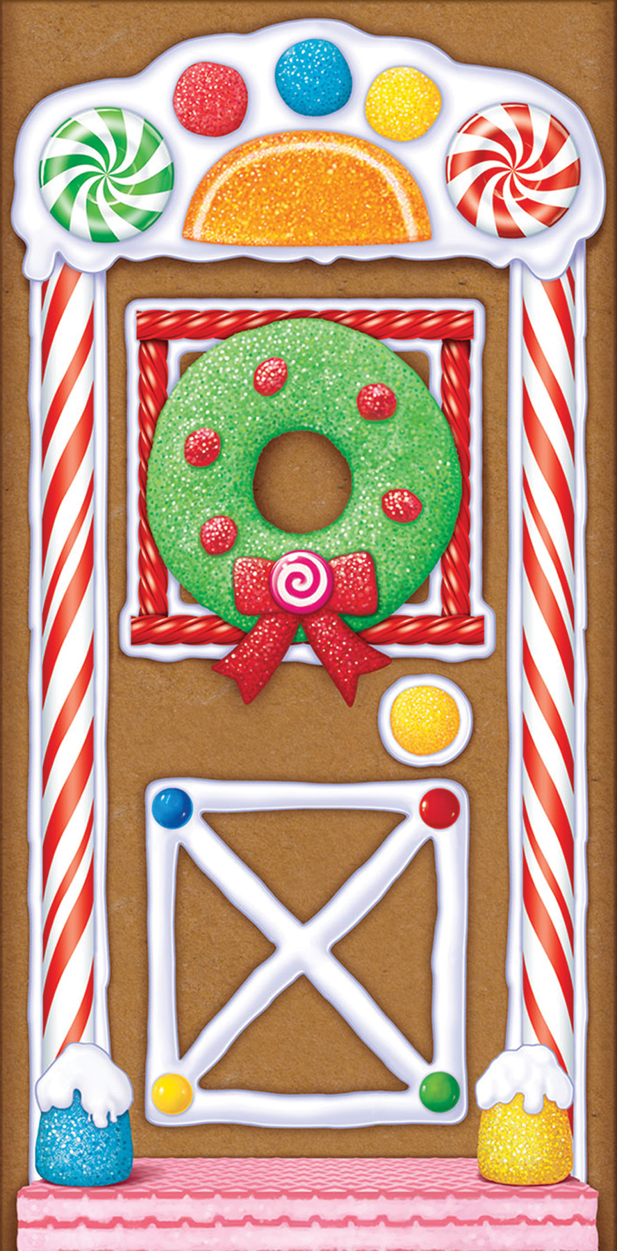 Featured Image for Gingerbread House Door Cover