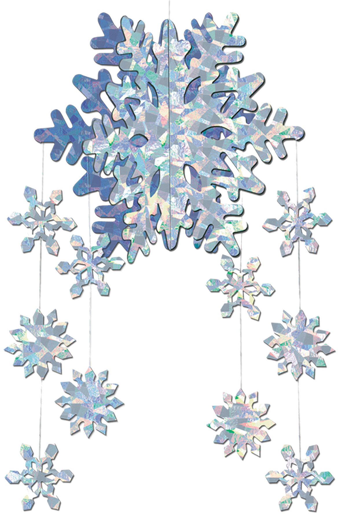 Featured Image for 3D Snowflake Mobile