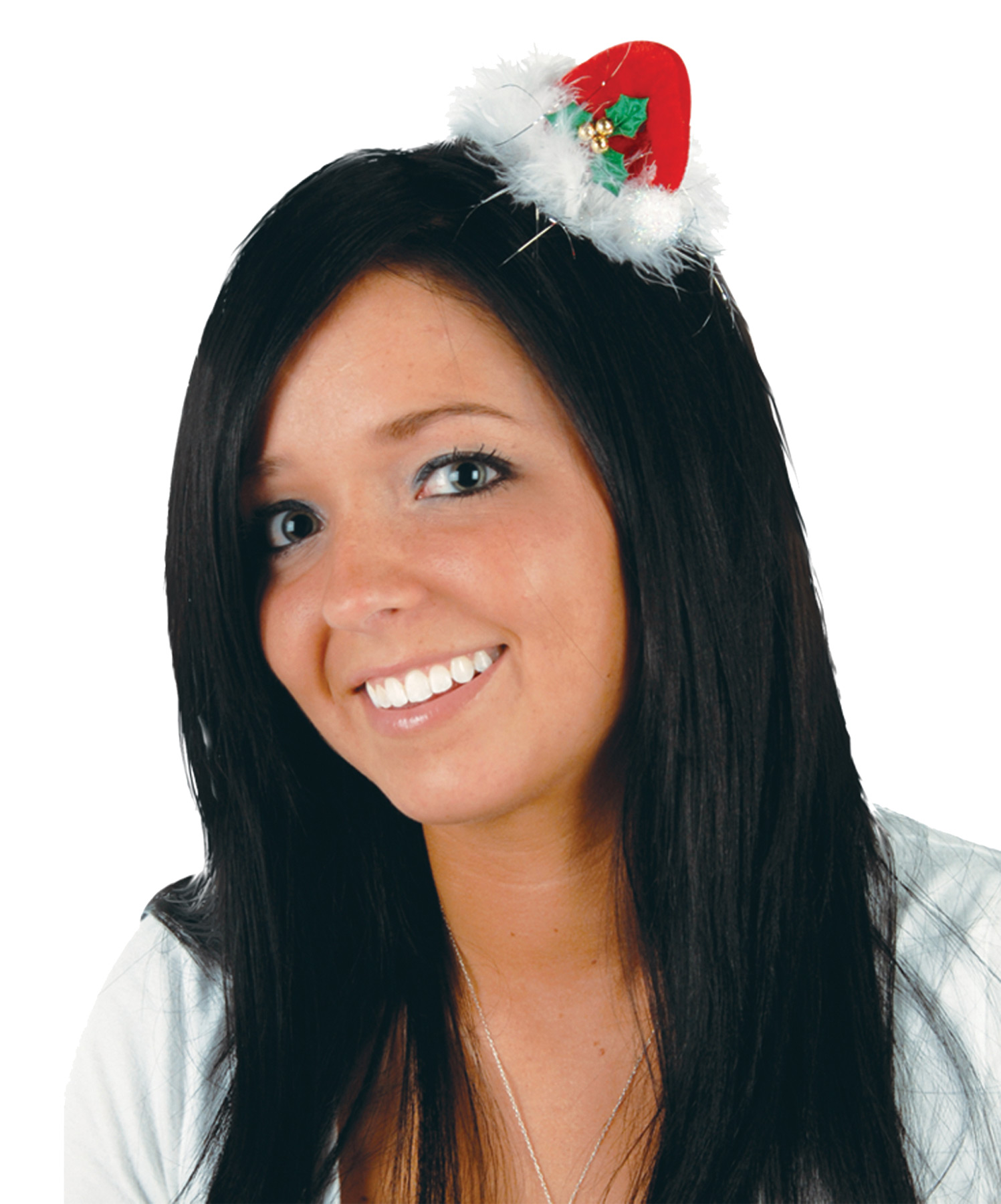 Featured Image for Santa Hat Hair Clip