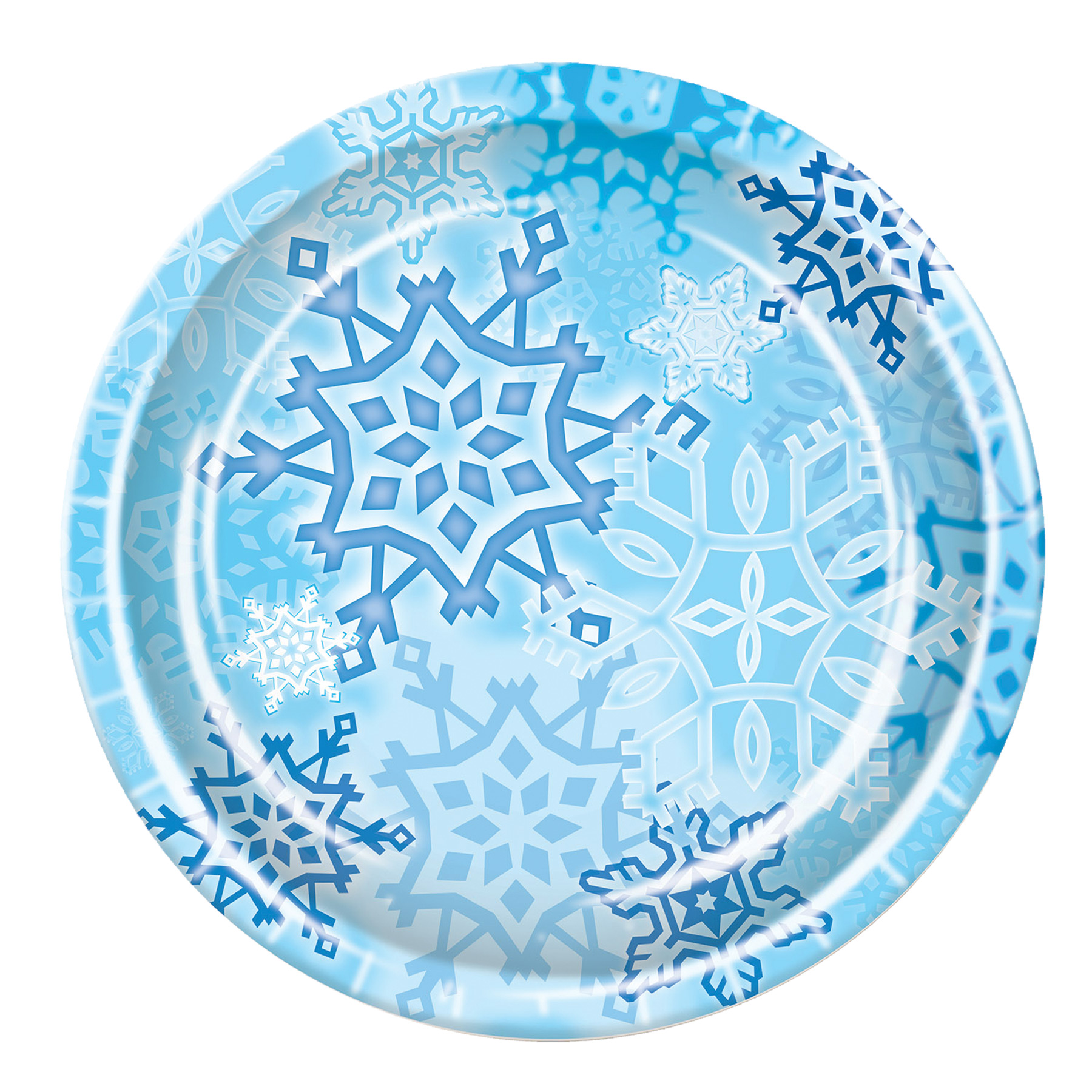 Featured Image for Snowflake Plates