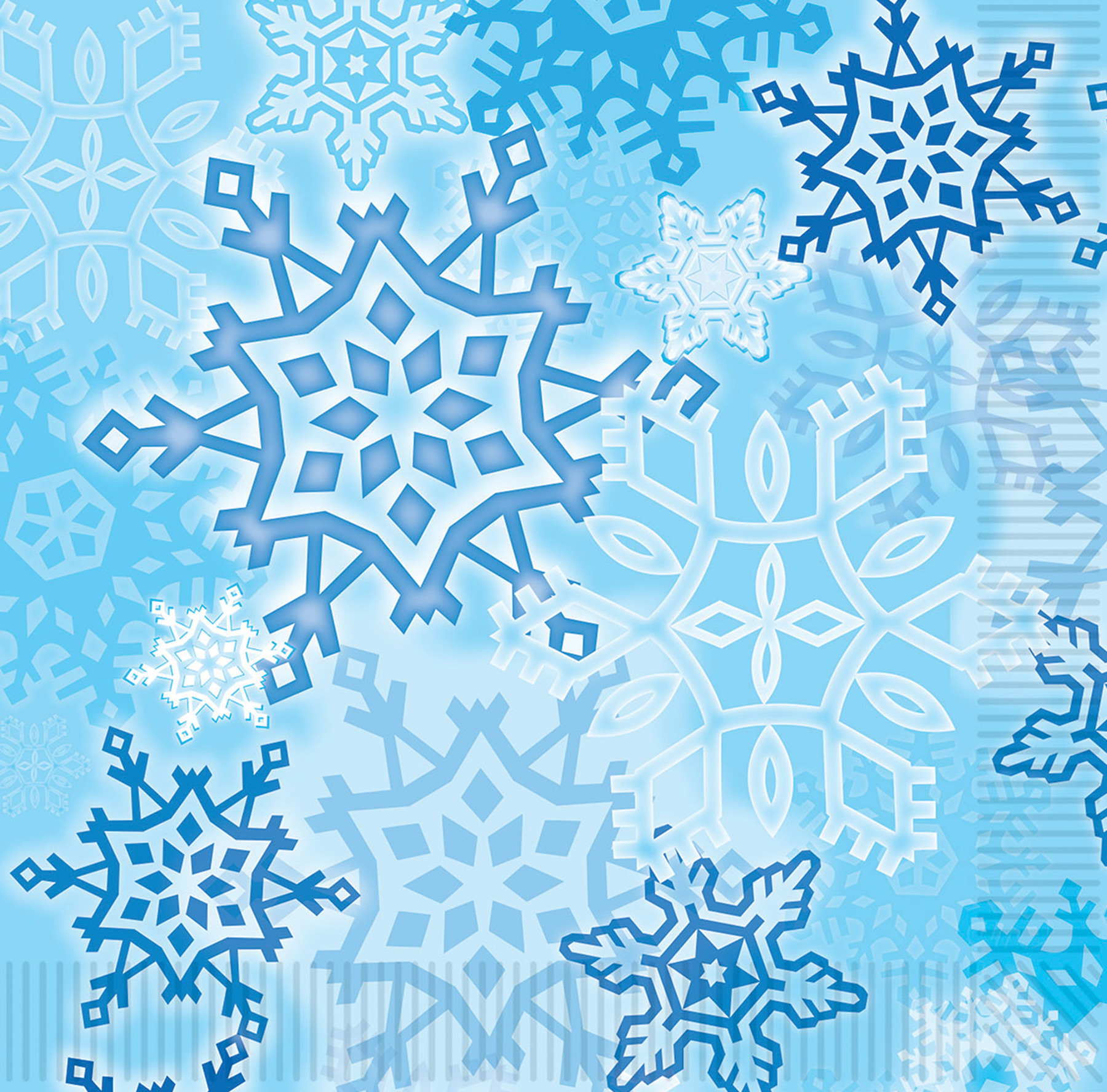 Featured Image for Snowflake Luncheon Napkins