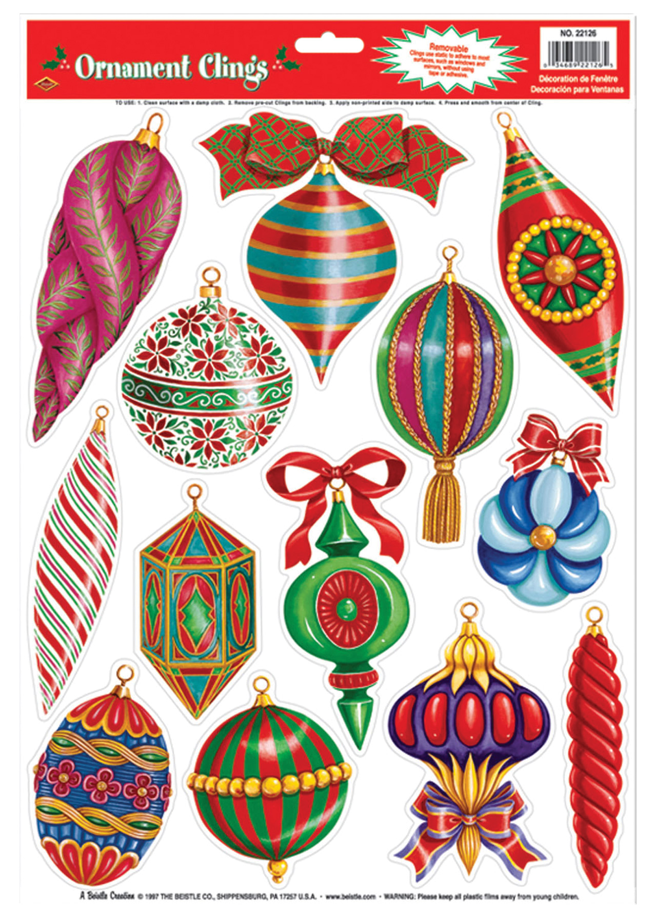 Featured Image for Christmas Ornament Clings