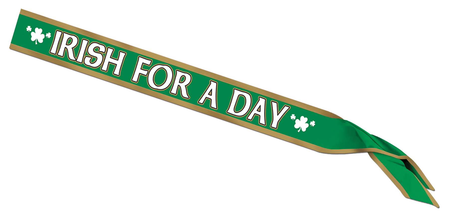 Featured Image for Irish For A Day Satin Sash