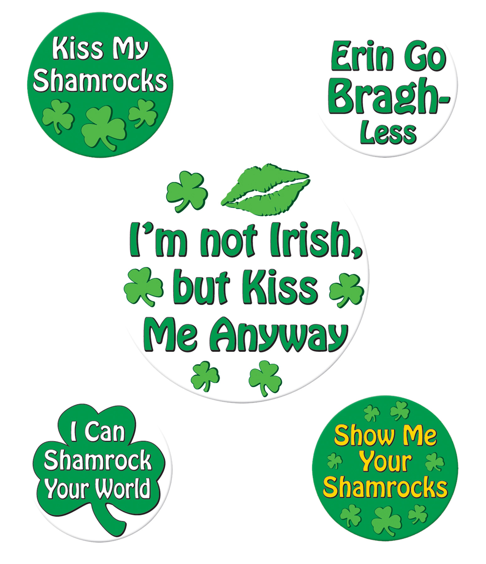 Featured Image for St. Patrick's Funny Party Button